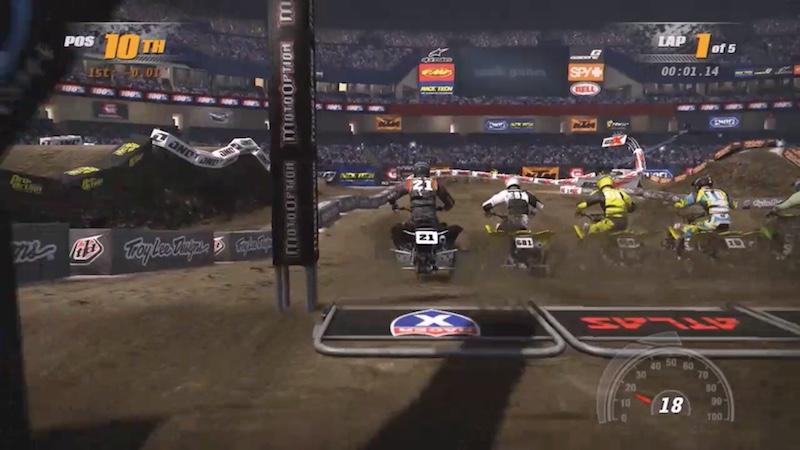 MX Vs ATV Supercross ATV