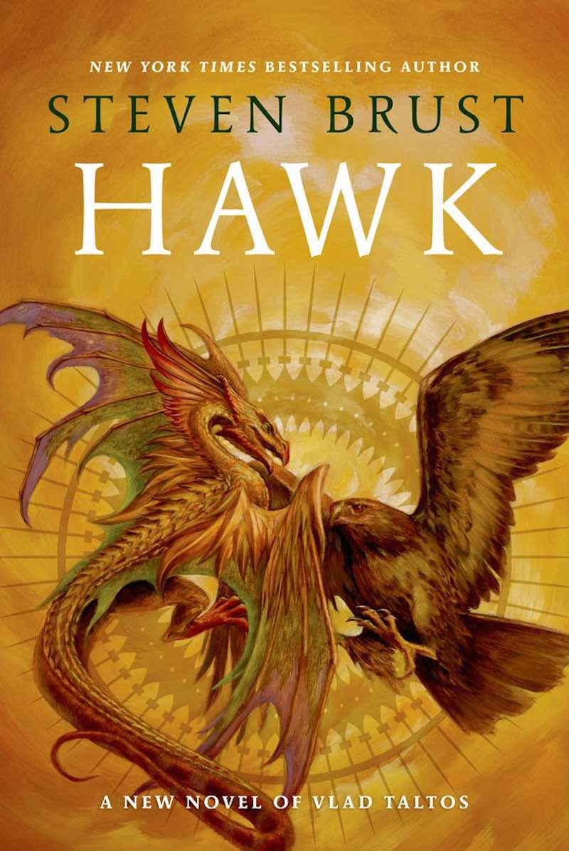 Steven Brust Hawk cover