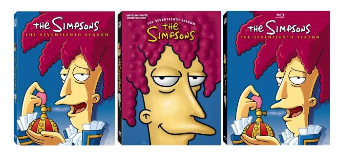 The Simpsons The Seventeenth Season cover