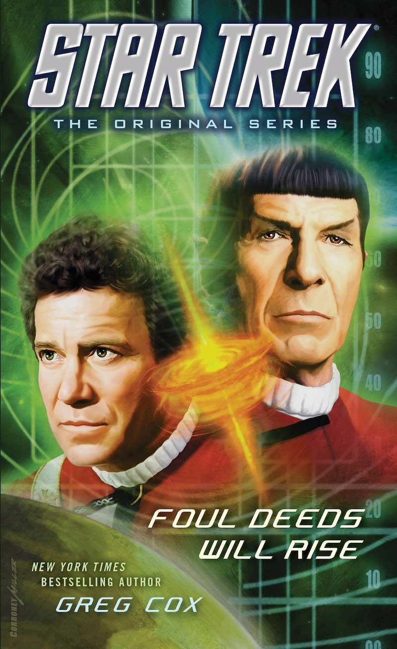Foul Deeds Will Rise cover Star Trek David Mack Greg Cox