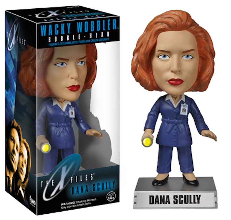 Funko X-Files Wacky Wobbler Dana Scully