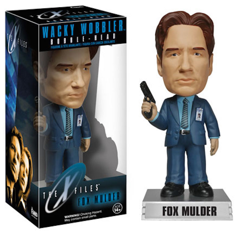 Funko X-Files Wacky Wobbler Fox Mulder
