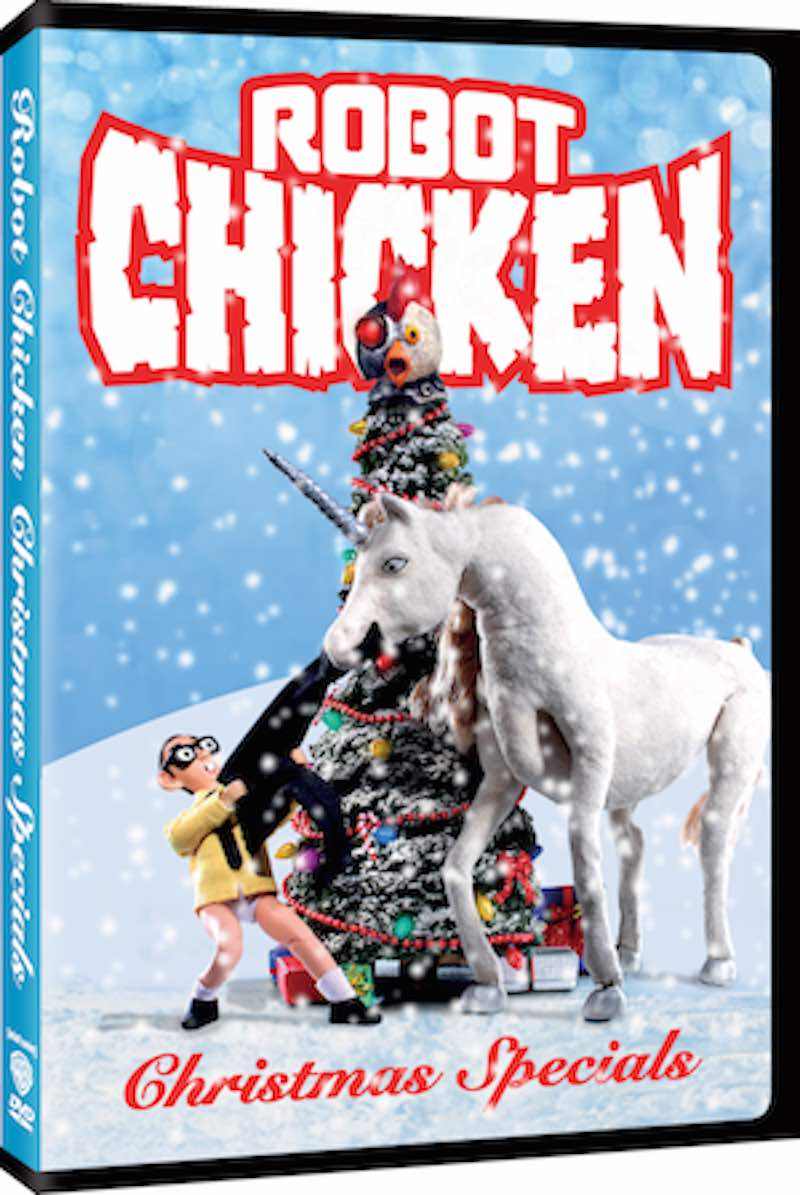 The Robot Chicken Lots of Holidays but Don't Worry Christmas is Still in There Too so Pull the Stick Out of Your Ass Fox News Special cover