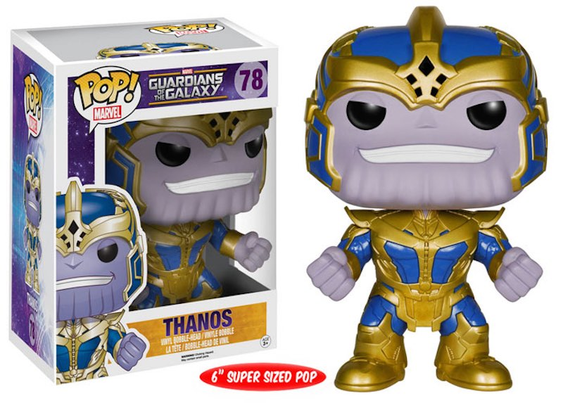 Funko Guardians Of The Galaxy POP 78 Thanos