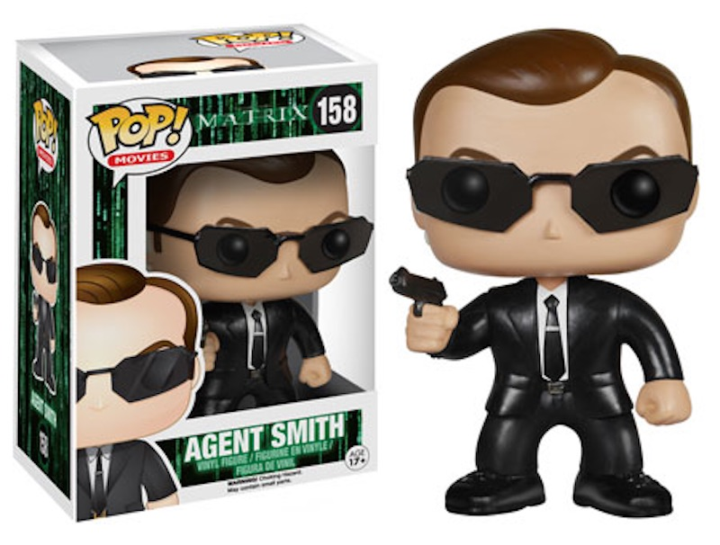 Funko Pop The Matrix 158 Agent Smith