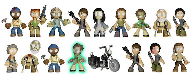 Funko Series 3 The Walking Dead Mystery Minis 01