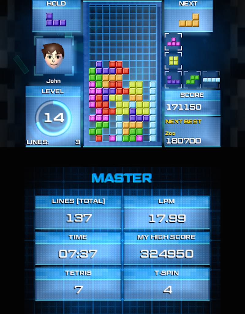 Tetris Ultimate (3DS) Master
