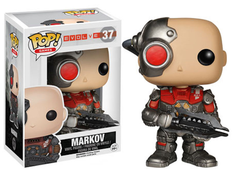Funko POP Evolve 37 Marvov