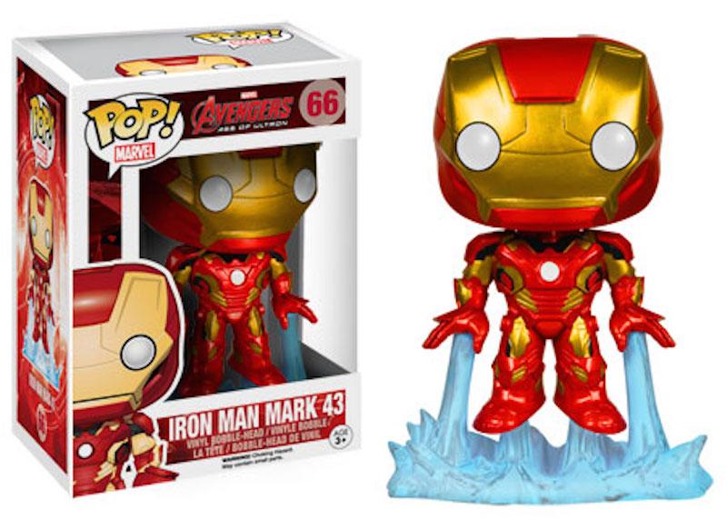 Funko Pop Avengers Age Of Ultron 66 Iron Man Mark 43