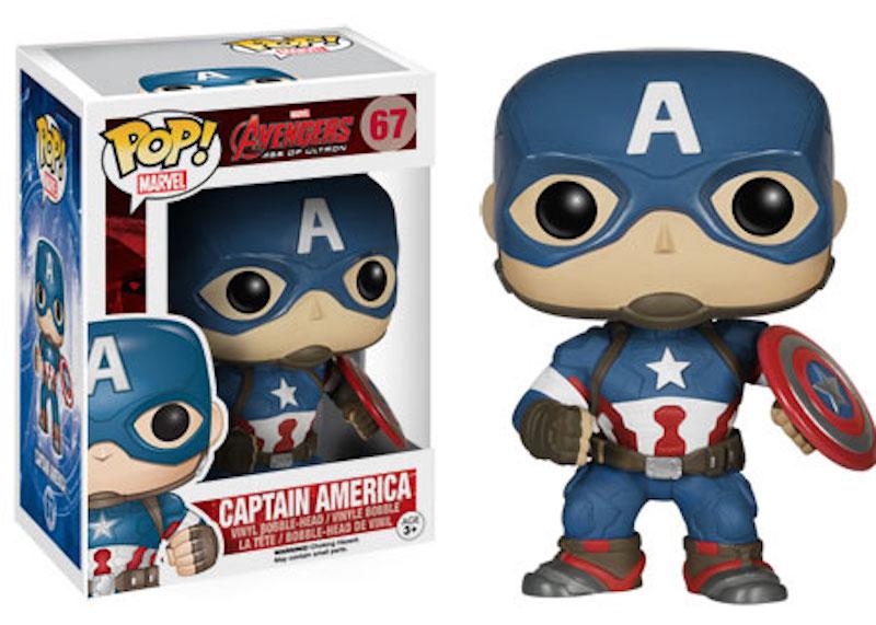 Funko Pop Avengers Age Of Ultron 67 Captain America