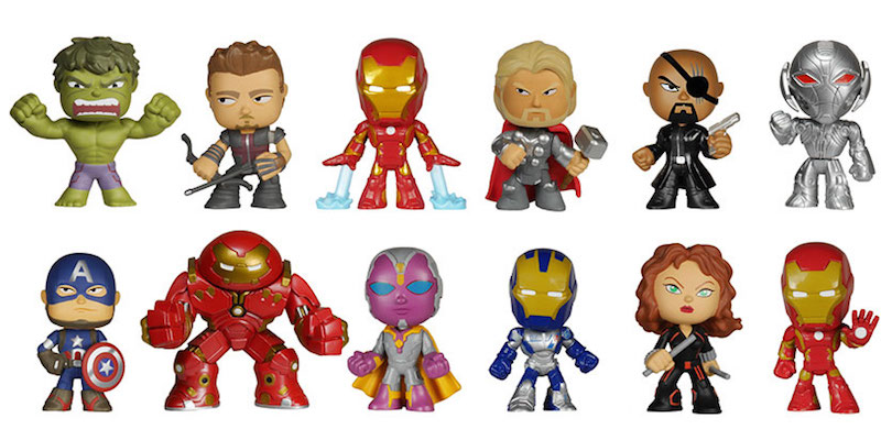 Funko Pop Avengers Age Of Ultron Mystery Minis