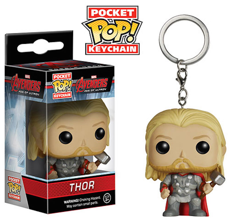 Funko Pop Keychain Avengers Age Of Ultron Thor