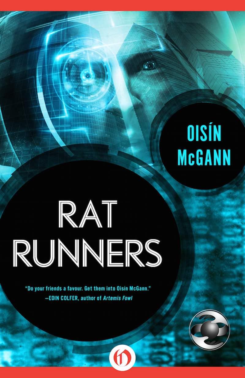 Oisín McGann Rat Runners cover