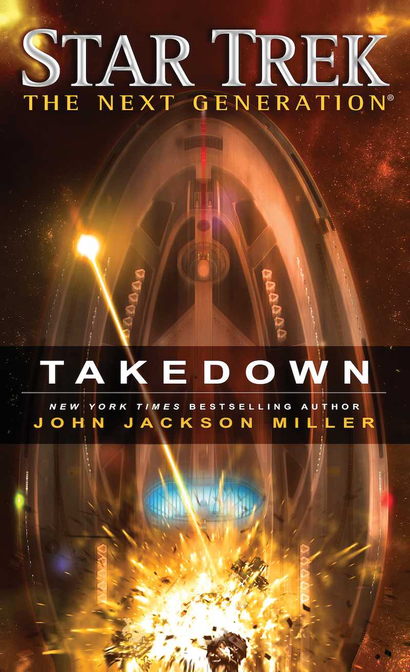 Star Trek The Next Generation Takedown John Jackson Miller cover