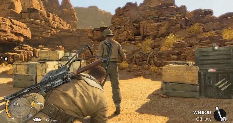 Sniper Elite III Ultimate Edition stealth kill