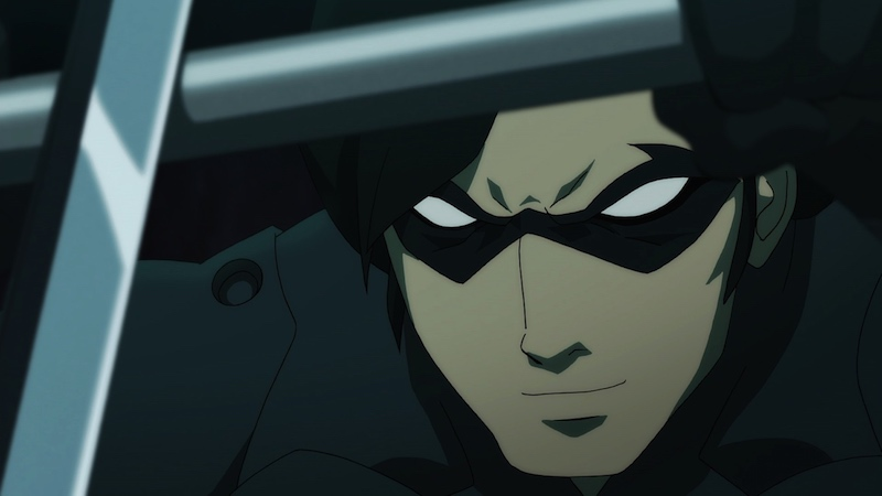 Batman Vs Robin Nightwing