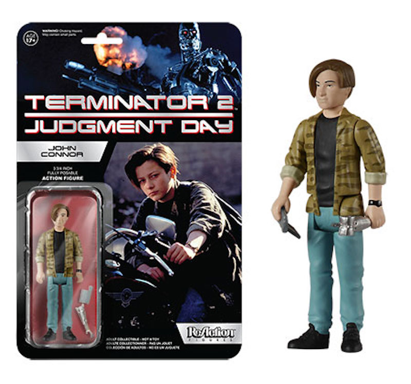 Funko ReAction Terminator 2 Judgment Day John Connor