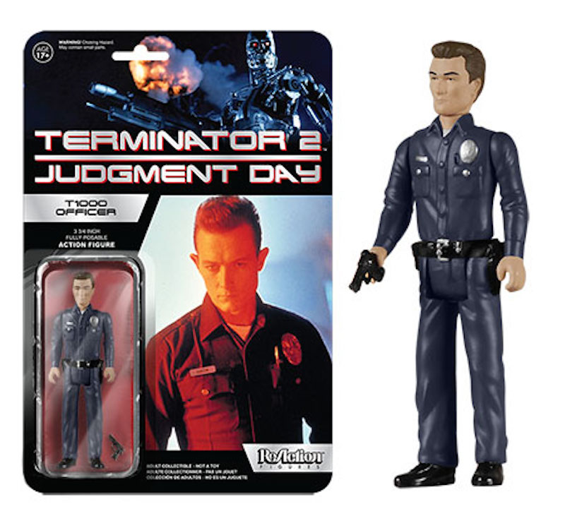 Funko ReAction Terminator 2 Judgment Day T1000 Officer