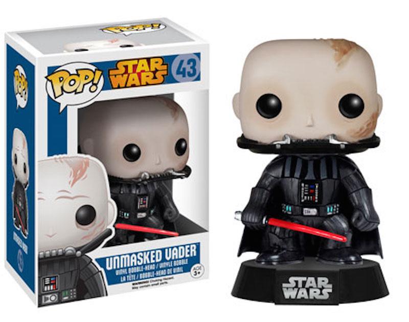 Funko Star Wars POP 43 Unmasked Vader
