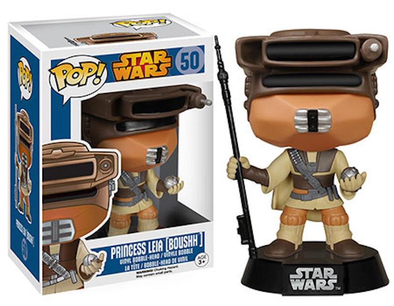 Funko Star Wars POP 50 Princess Leia (Boushh)