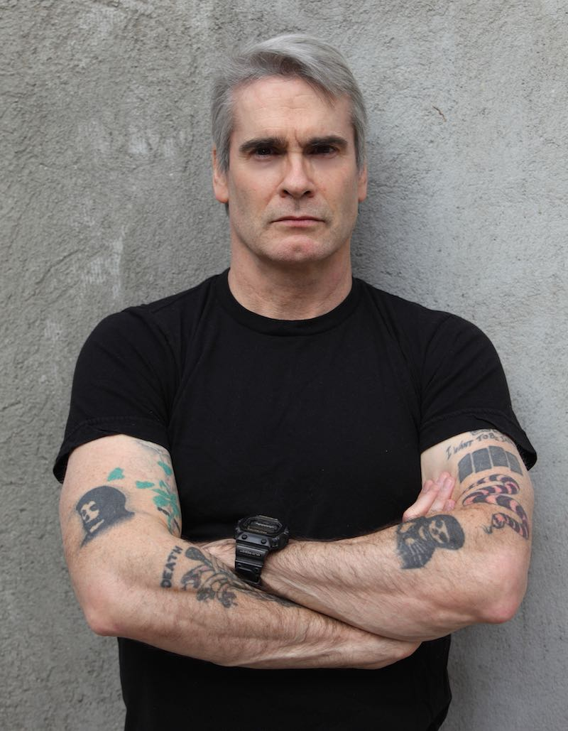 Henry Rollins Before The Chop II author