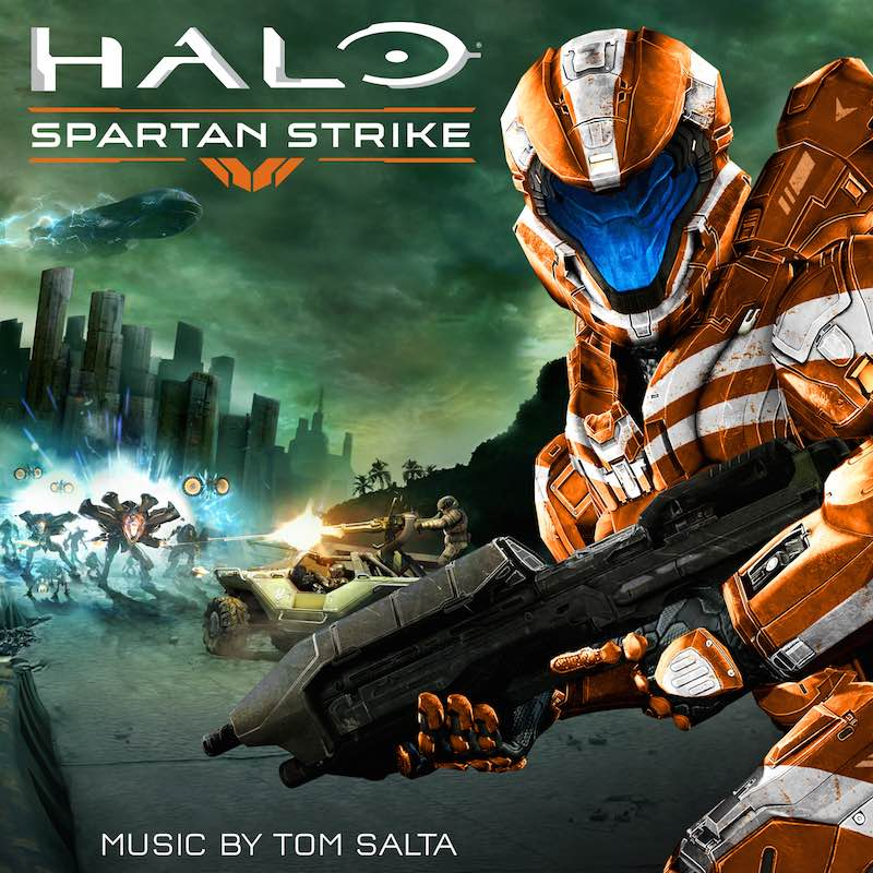 Tom Salta Halo Spartan Strike cover:dropbox