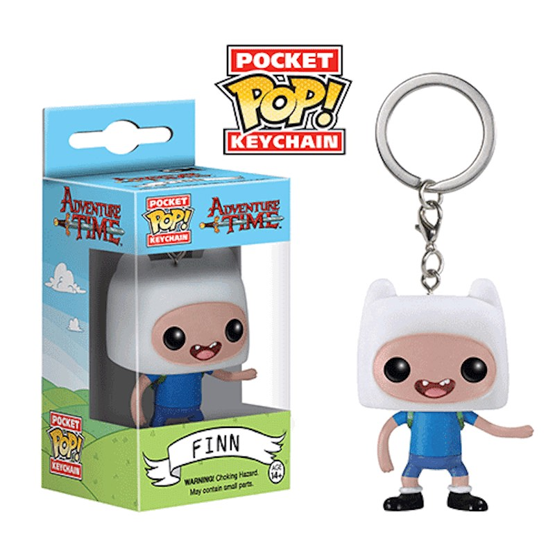 Funko Adventure Time Pocket Pop Keychain Finn
