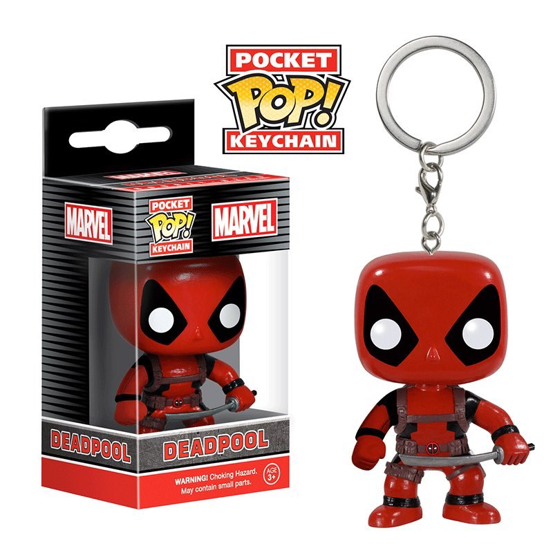 Funko Marvel POP! Keychain Deadpool