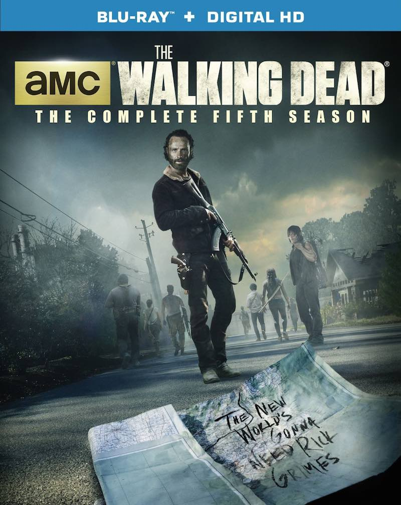 The Walking Dead The Complete Fifth Season cover