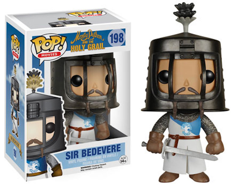 Funko Monty Python And The Holy Grail POP! 198 Sir Bedevere