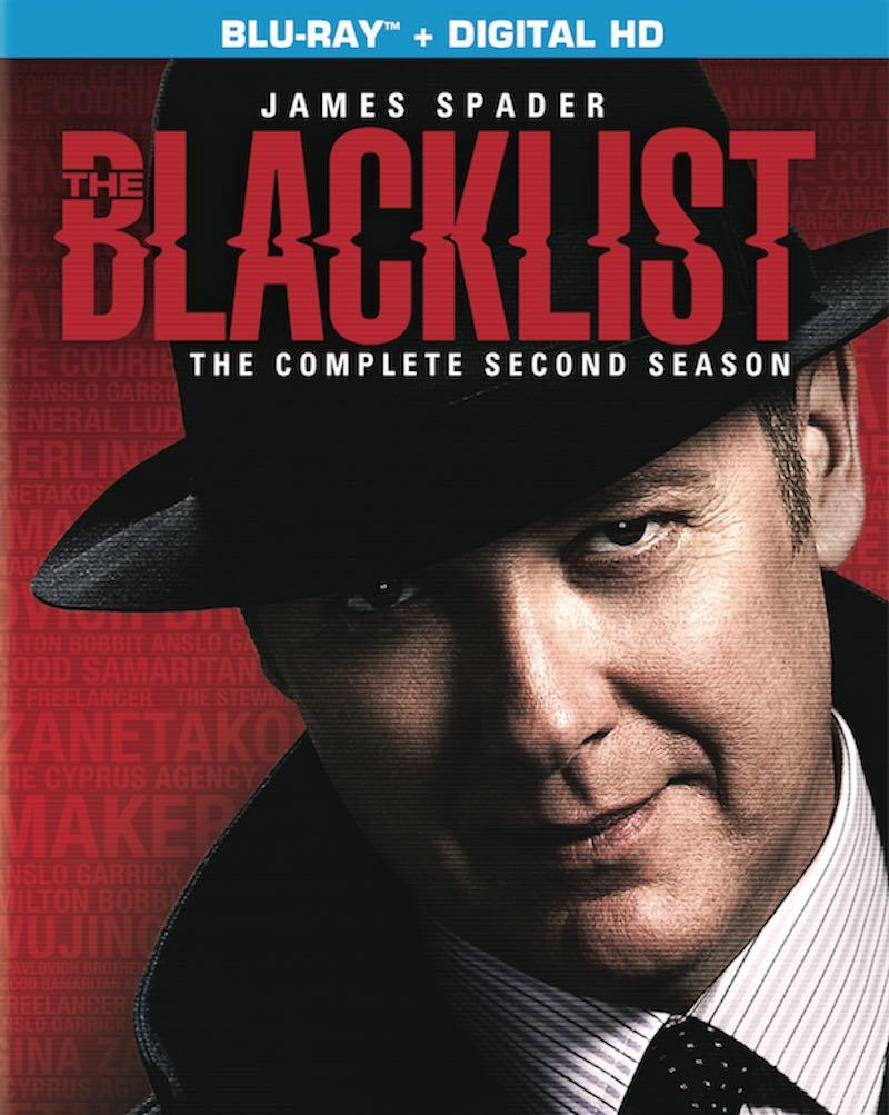 The Blacklist The Complete Second Season cover