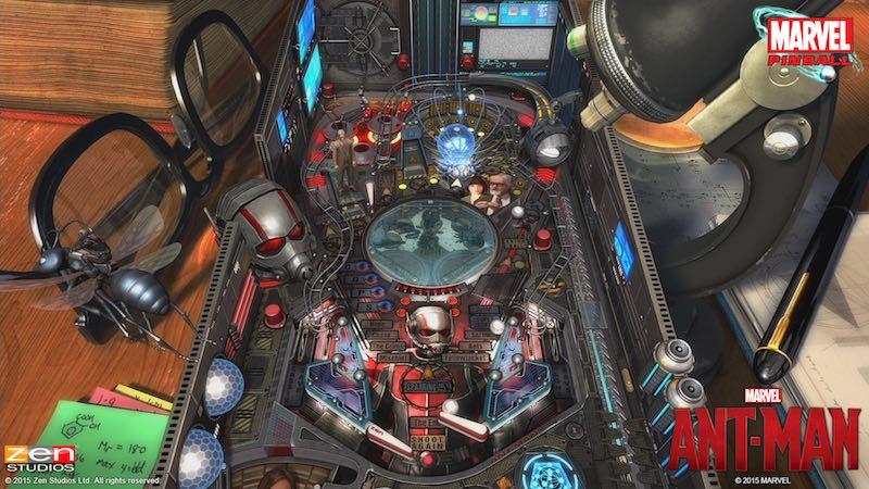 Zen Pinball 2 Pinball FX 2 Ant-Man 02