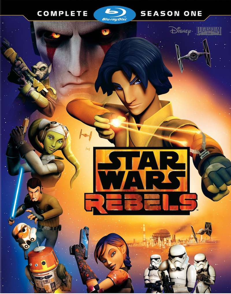 Star Wars Rebels Complete Season One cover