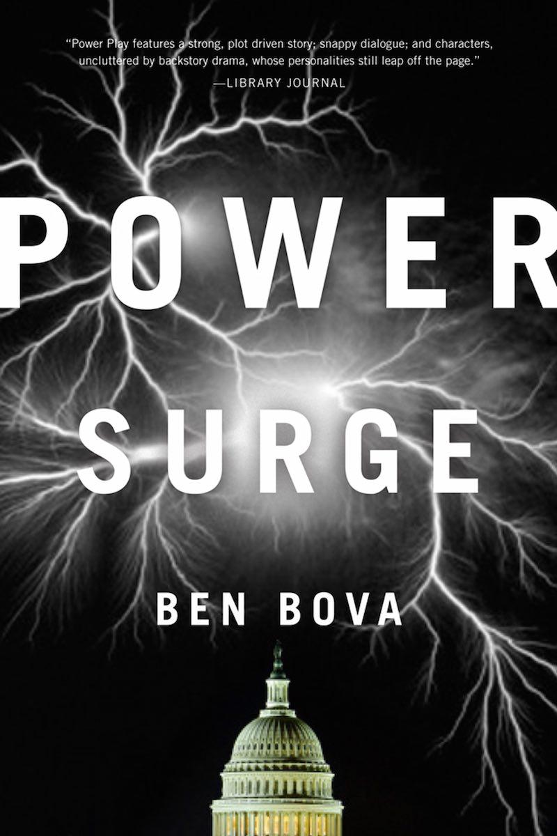 Ben Bova Power Surge cover