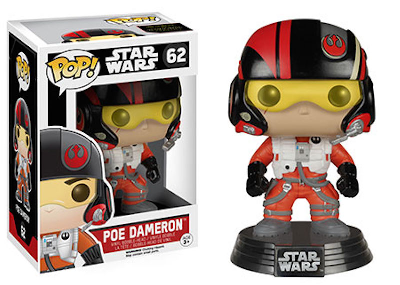 Funko Star Wars The Force Awakens POP 62 Poe Dameron