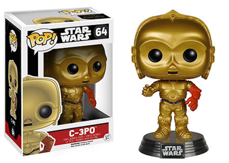 Funko Star Wars The Force Awakens POP 64 C-3PO