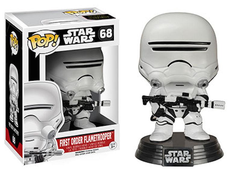Funko Star Wars The Force Awakens POP 68 First Order Flametrooper