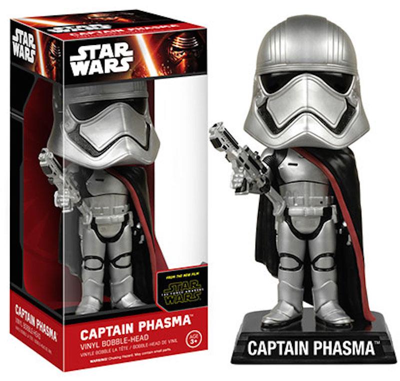 Funko Star Wars The Force Awakens Wacky Wobbler Captain Phasma