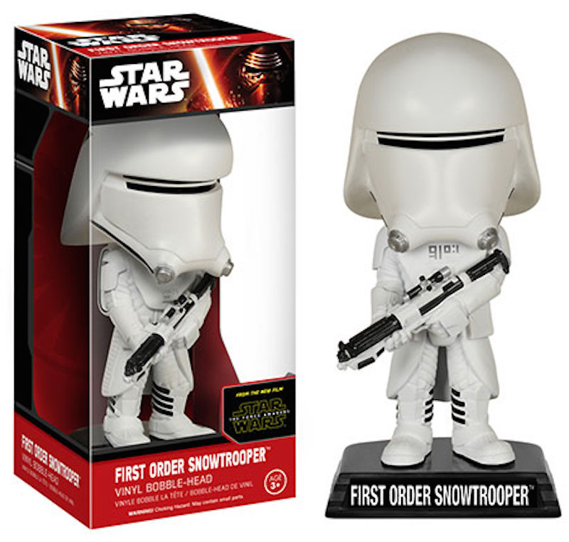 Funko Star Wars Wacky Wobbler First Order Snowtrooper