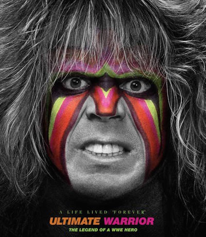 Jon Robinson Ultimate Warrior A Life Lived Forever cover