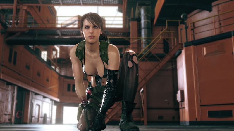 Metal Gear Solid V The Phantom Pain Hideo Kojima pervy