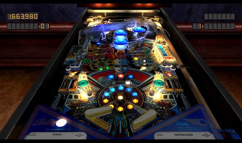 Pinball Arcade Season Four 38 Xenon