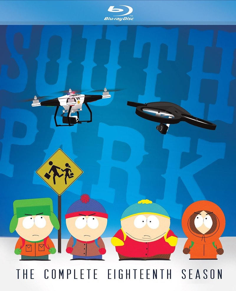 South Park The Complete Eighteenth Season cover