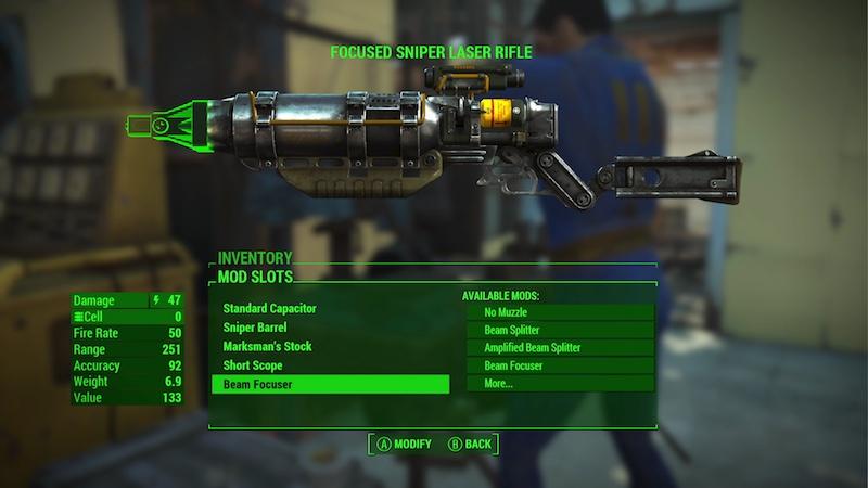Fallout 4 weapon mod