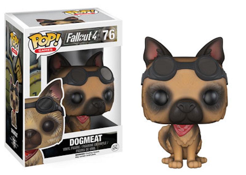 Funko Fallout 4 76 Dogmeat