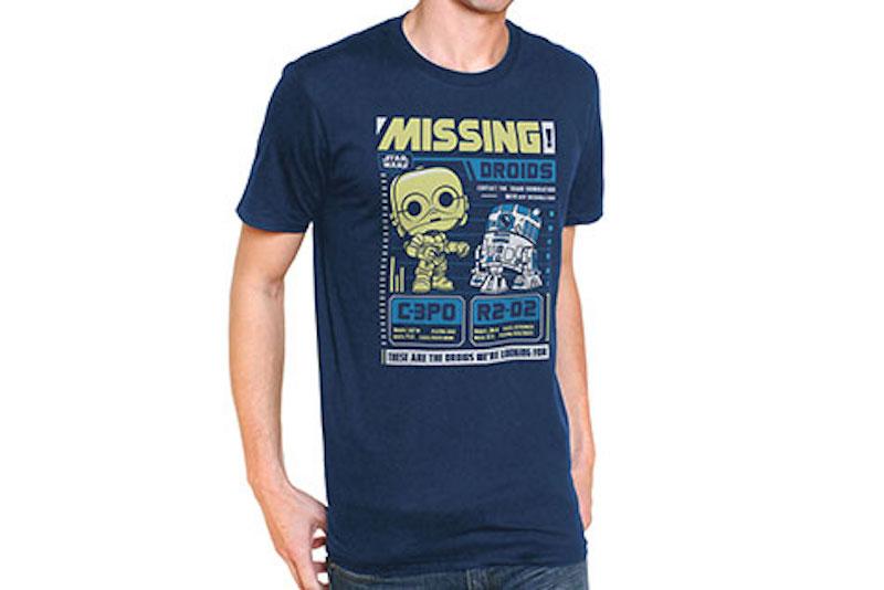 Funko Shirt Marvel Star Wars C-3PO R2-D2