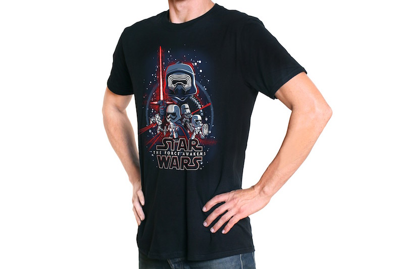 Funko Shirt Marvel Star Wars Kylo Ren