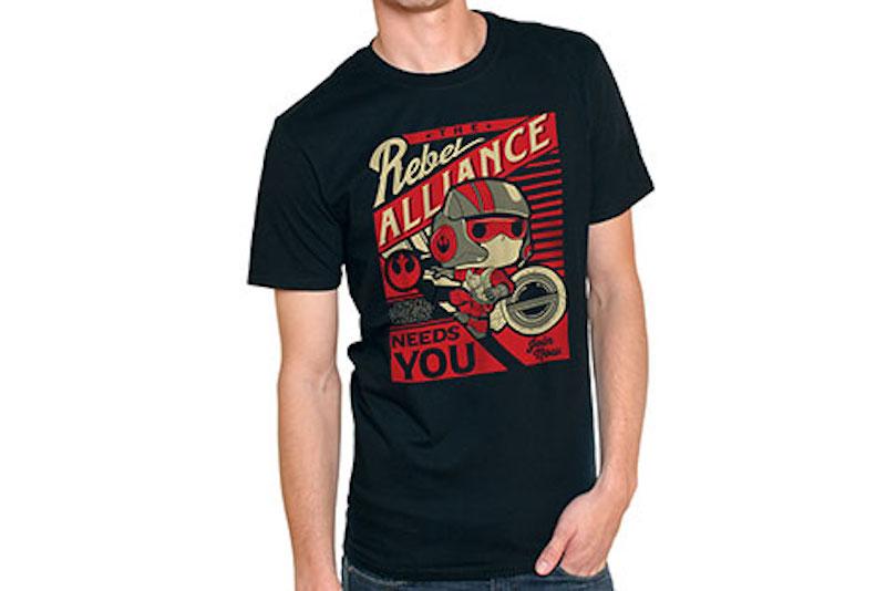 Funko Shirt Marvel Star Wars Rebel Alliance