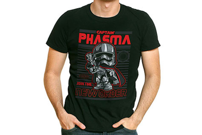 Funko Shirt Marvel Star Wars The Force Awakens Captain Phasma