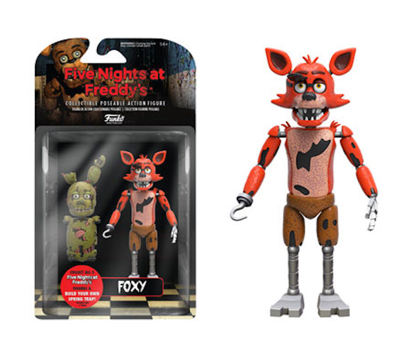 Funko Five Night At Freddy's action figure Foxy